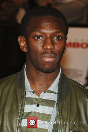 Shaun Wright-Phillips UK Film Premiere of 'Rambo' - Arrivals held at Vue West End  London, England - 12.02.08