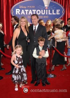 Chris Harrison and family World Premiere of Disney Pixar's