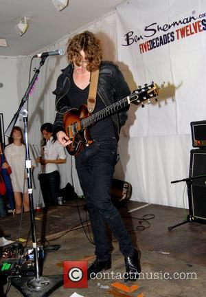 Johnny Borrell and Razorlight