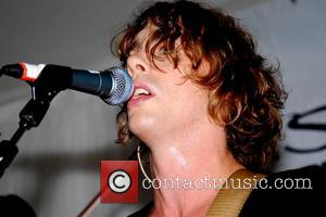 Johnny Borrell  of Razorlight performing live as part of the 'Ben Sherman's Five Decades, Twelve Sundays' season held at...