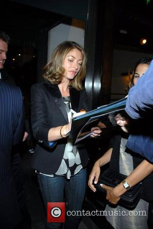 Rebecca Gayheart  signs autographs outside Madeos Restaurant. Los Angeles, California - 30.04.08