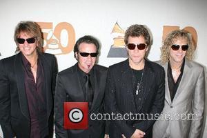 Richie Sambora, Alicia Keys, Bon Jovi and Jon Bon Jovi