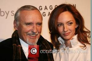 Dennis Hopper and Victoria Hopper The Red Auction on Valentine's Day at Sotheby's New York City, USA - 14.02.08
