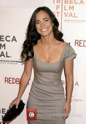 Alice Braga  2008 Tribeca Film Festival - Premiere of 'Redbelt' at the BMCC Tribeca PAC New York City, USA...