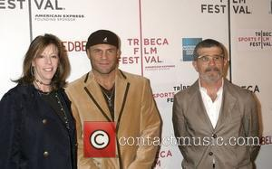 Jane Rosenthal, Randy Couture and David Mamet