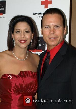 Christine Devine and guest Santa Monica Red Cross 2008 Red Tie Affair held at Fairmont Miramar Hotel Santa Monica, California...