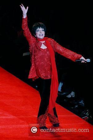 Liza Minnelli Mercedes-Benz Fashion Week Fall 2008 - Red Dress Fashion Show - Catwalk New York City, USA - 01.02.08