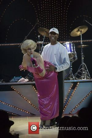 Marilyn Monroe impersonator, Marilyn Monroe and Tiger Woods