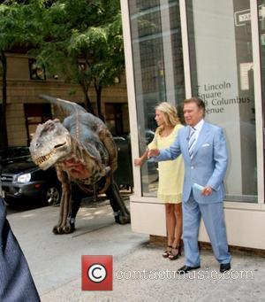 Kelly Ripa and Regis Philbin