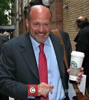 NBC's Mad Money host Jim Cramer at...
