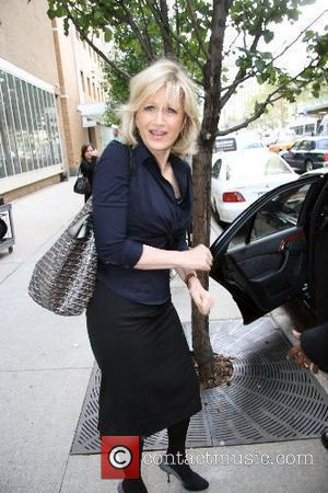 Diane Sawyer leaving ABC Studios after appearing on 'Live with Regis and Kelly' New York City, USA - 27.09.07