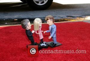 Donald Trump, Kelly Ripa and Regis Philbin