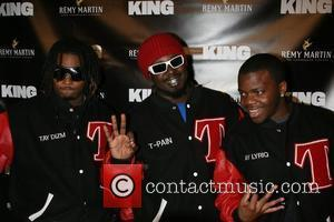 T-Pain and Nappy boy Remy Martin gets interesting with the women of King Magazine at the Metropolitan Pavilion New York...