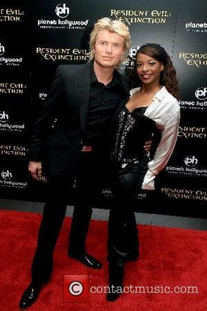 Hans Klok and Candi Kitt World Premiere of 'Resident Evil: Extinction' at Planet Hollywood Hotel & Casino - Arrivals Las...