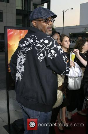 Samuel L Jackson at the premiere of 'Resurrecting The Champ' held at the The Academy of Motion Picture Arts and...