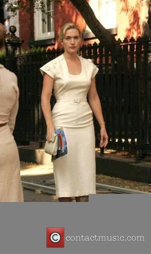 Kate Winslet  at the film set for 'Revolutionary Road' New York City, USA - 30.05.07