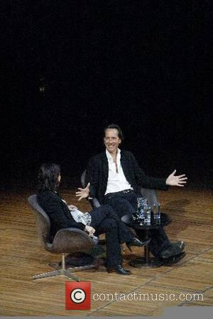 Richard E. Grant in conversation with Jennifer Byrne at the Sydney Opera House during the Sydney Writers' Festival  Sydney,...
