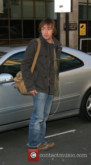 Richard Hammond arrives at BBC Radio 1 to promote his new book