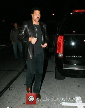 Lionel Richie leaving the 'Villa Lounge'  West Hollywood, California - 29.12.07