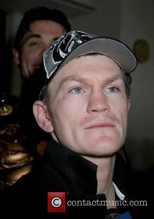 Jr. Welterweight World Champion Ricky Hatton arrival at Caesars Palace Hotel and Casino for his upcoming fight with Jose Luis...