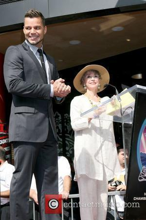 Ricky Martin, Star On The Hollywood Walk Of Fame, Rita Moreno, Walk Of Fame