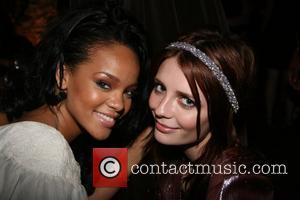 Rihanna and Mischa Barton