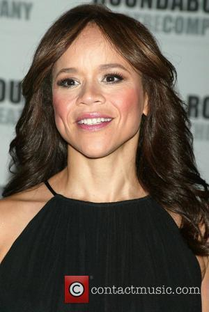 Rosie Perez Opening night post performance photocall for the Broadway revival of 'The Ritz' held at Studio 54 New York...