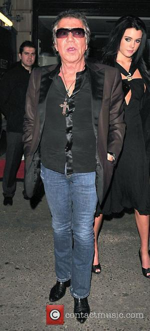 Roberto Cavalli  arrives at Movida club for the UK launch of his designer vodka Magnum London, England - 03.04.08