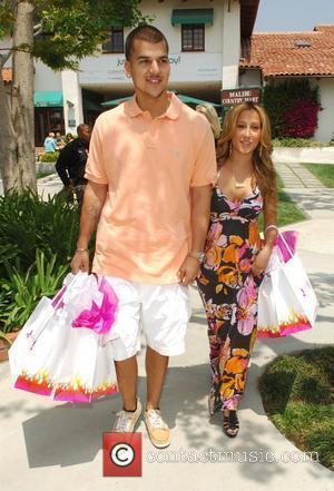 Robert Kardashian Jr and Adrienne Bailon