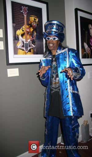Bootsy Collins To Headline James Brown Tribute
