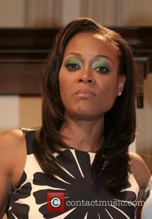 Actress Robin Givens at a book reading and signing for her memoir 'Grace will lead me home' at Barnes and...