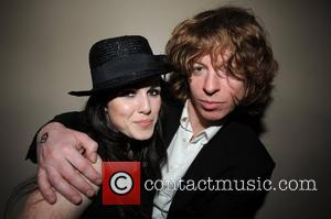 Sandi Thom and Simon Bartholomew of Brand New Heavies at the launch party of the video game 'Rock Band' which...