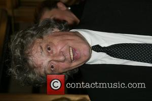 Tom Stoppard  at the opening night performance of Tom Stoppard's 'Rock 'N' Roll' at the Jacobs Theatre New York...