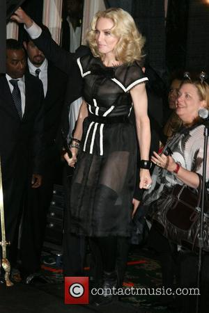 Madonna To Dine With Russia's First Family