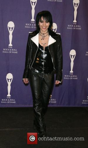 Joan Jett 2008 Rock and Roll Hall of Fame at Waldorf-Astoria hotel - Press Room New York City, USA -...
