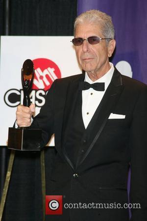 Leonard Cohen 2008 Rock and Roll Hall of Fame at Waldorf-Astoria hotel - Press Room New York City, USA -...