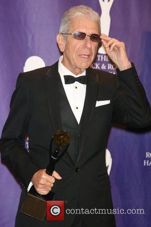 Leonard Cohen, Rock And Roll Hall Of Fame