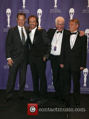 Tom Hanks and Musicians of The Dave Clark Five 2008 Rock and Roll Hall of Fame at Waldorf-Astoria hotel -...