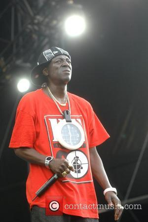 Flavor Flav of Public Enemy Rock the Bells Concert Randall's Island New York City, USA-28.07.07