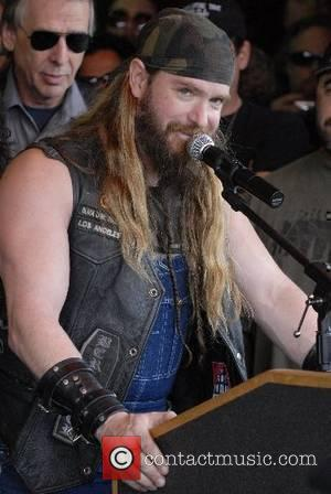 Zakk Wylde of Black Label Society Legendary metal guitarist Dimebag Darrell Abbott posthumously inducted into Hollywood's Rockwalk Hollywood, California -...