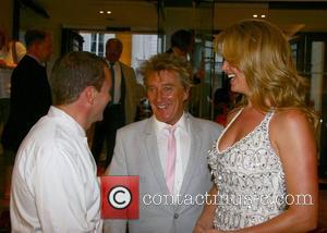 Theo Randall, Rod Stewart and Penny Lancaster Summer Party held at the Intercontinental hotel, Park Lane London, England - 18.08.07