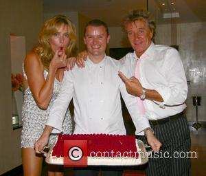 Penny Lancaster, Theo Randall and Rod Stewart Summer Party held at the Intercontinental hotel, Park Lane London, England - 18.08.07