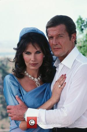 *SIR ROGER MOORE CELEBRATES HIS 80TH BIRTHDAY ON 14TH OCTOBER 2007  Maud Adams (as Octopussy) and Roger Moore (as...
