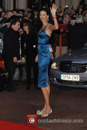 L'Wren Scott UK premiere of 'Shine A Light' held at Odeon Leicester Square London, England - 02.04.08