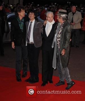 Mick Jagger, Charlie Watts, Keith Richards and Ronnie Wood