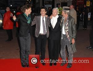 Mick Jagger, Ronnie Wood, Odeon Leicester Square, Charlie Watts, Keith Richards