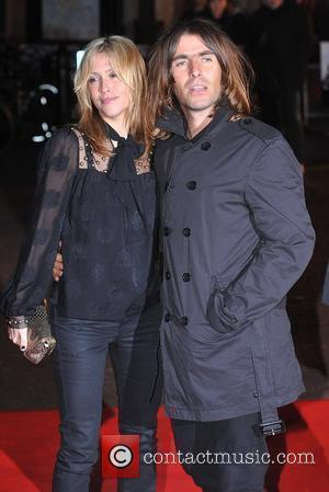Liam Gallagher and Nicole Appleton UK premiere of 'Shine A Light' held at the Odeon Leicester Square - Arrivals London,...