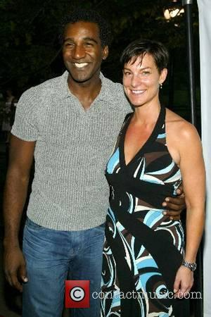 Norm Lewis and Tara Young Opening night of 'Romeo & Juliet' at Shakespeare in the Park Delacorte Theatre - Arrivals...