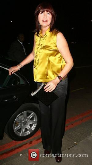 Janet Street Porter at the Royal Television Society Programme Awards 2007 at Grosvenor House London, England - 19.03.08