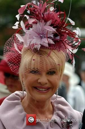Ivana Trump attends Ladies Day at Royal Ascot Ascot, England - 21.06.07